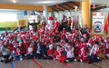 Peacekeepers organize Christmas events to the delight of children