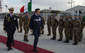 Italian Prime Minister visits UNIFIL and the Italian peacekeepers