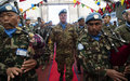 Nepalese peacekeepers celebrate Army Day