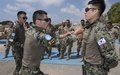 Korean peacekeepers and Lebanese Army boost combat skills