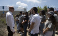 University students from around the world see UNIFIL's work first-hand