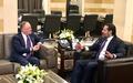 رئيس بعثة اليونيفيل يجتمع مع رئيس مجلس الوزراء اللبناني
