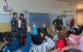 UNIFIL French peacekeepers conduct road safety campaign for schoolchildren