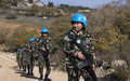 UNIFIL peacekeepers from Nepal help maintain peace along Blue Line