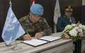 UNIFIL and LAF sign MoU to consolidate cooperation around humanitarian demining