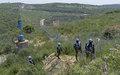 جنود حفظ سلام غانيين تابعين لليونيفيل يضيفون بصمتهم في جنوب لبنان