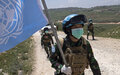 UNIFIL Indonesians peacekeepers help maintain stability along Blue Line