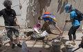UN4Beirut#: موظفو الأمم المتحدة يتضامنون مع اللبنانيين