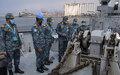 Bangladesh Navy official visits damaged UNIFIL Maritime Task Force vessel