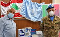 Tyre Municipality receives 510 COVID-19 PCR test kits from UNIFIL
