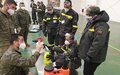 Civil defence volunteers trained on COVID-19 disinfection procedures