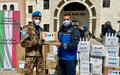 Sector West peacekeepers launch 'Together Against COVID' campaign