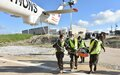 French and Ghanaian troops conduct medical evacuation exercise