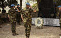 Respects paid to 5 UNIFIL Irish peacekeepers fallen in the line of duty
