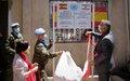 حفظةالسلام الإسبانيقدموندعماً في مجالمكافحة الحرائقلمراكز الدفاع المدني