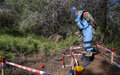 UNIFIL deminers persevere with clearing south Lebanese land of deadly mines