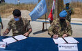 UNIFIL hands over one of its positions to the Lebanese Armed Forces