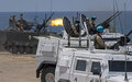 UNIFIL and LAF troops carry out live-fire drill