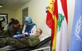 25 UNIFIL peacekeepers donate blood in Meiss Ej-Jebel
