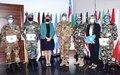 الكتيبة النيبالية تحصل على جائزة اليونيفيل للبيئة
