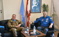 A soldier-turned-astronaut visits UNIFIL
