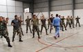 UNIFIL Sector East conducts joint hand-to-hand combat training with LAF
