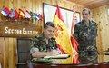 LAF's 5th Regiment Commander visits UNIFIL's SECEAST HQ