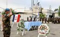 UNIFIL and LAF pay tribute to fallen French peacekeeper