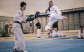 Korean peacekeepers offer taekwondo classes