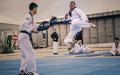 Korean peacekeepers offer taekwondo classes