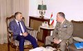 UNIFIL head meets with Lebanon's Foreign Minister
