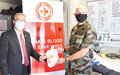 Irish peacekeepers assist Red Cross with blood and cash donations
