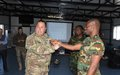 Ghanaian peacekeepers organize Combat Medicare Course with LAF