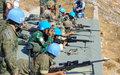 جنود حفظ السلام في القطاع الشرقي يتدربون على الرماية مع القوات المسلحة اللبنانية