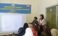 Indian peacekeepers organize awareness session on breast cancer
