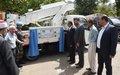 UNIFIL donates utility truck to Kfar Hamam Municipality