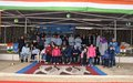 Indian peacekeepers organize a day of fun for children with disabilities