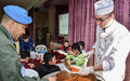 UNIFIL outreach peacekeepers enthrall children in orphanage