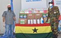 Ghanaian support to host communities to fight COVID-19 spread