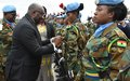 نائب رئيس غانا يزور اليونيفيل