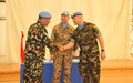 Nepalese officer takes over command of OGL