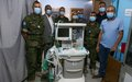 Finnish support Marjayoun hospital with anesthesia machine