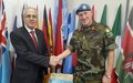 Top Lebanese Civil Defense officials discuss enhanced cooperation with UNIFIL
