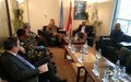 Fijian Prime Minister visits UNIFIL HQ