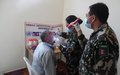 Nepalese peacekeepers provide free medical and dental services to locals