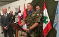 UNIFIL head pays tribute to Spain's contribution to south Lebanon