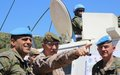 Spanish Chief of Defence visits UNIFIL area of operation
