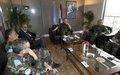 LAF's CIMIC chief visits UNIFIL headquarters