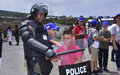 Outreach peacekeepers host children in UNIFIL HQ