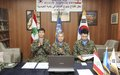 Korean peacekeepers build water purification plant in Abbasiyah